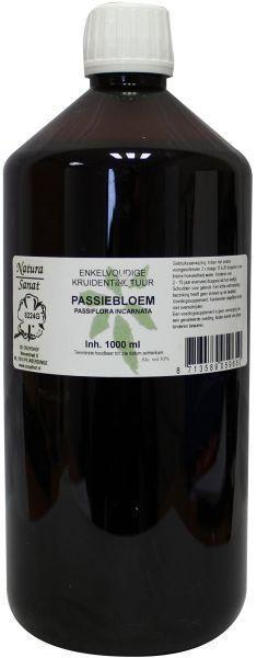 Natura Sanat Natura Sanat Passiflora incarnata herb/passiebloem tinctuur bio (1 liter)