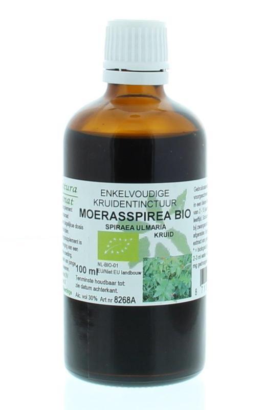Natura Sanat Natura Sanat Spiraea ulmaria herb / moerasspirea tinctuur bio (100 ml)