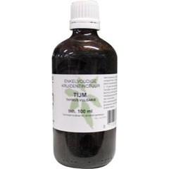 Natura Sanat Thymus vulgaris herb / tijm tinctuur (100 ml)