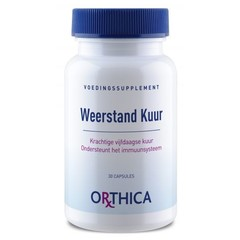 Orthica Weerstand kuur (30 capsules)