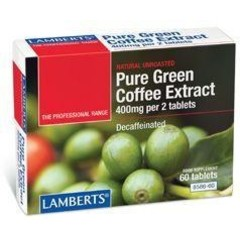 Lamberts Groene koffie extract (60 tabletten)
