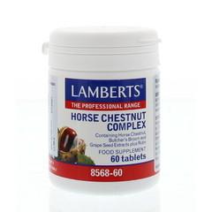 Lamberts Paardekastanje complex (Aescine, Horse Chestnut) (60 tabletten)
