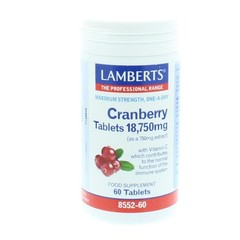 Lamberts Cranberry (60 tabletten)