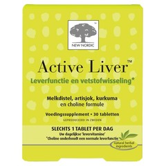 New Nordic Active liver (30 tabletten)