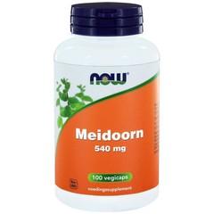 NOW Meidoorn 540 mg (100 Vcaps)
