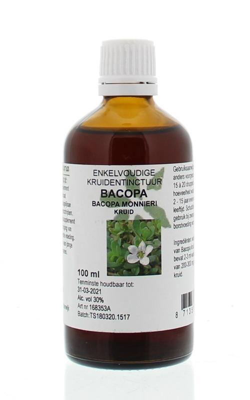 Natura Sanat Natura Sanat Bacopa monnieri herb / bacopa tinctuur (100 ml)