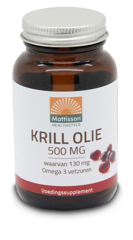 Mattisson Mattisson Krill olie omega 3 500 mg (60 capsules)
