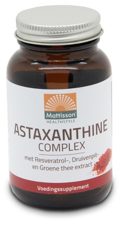 Mattisson Mattisson Astaxanthine complex (60 capsules)
