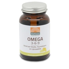 Mattisson Omega 3 6 9 vis teunisbloem lijnzaad (60 capsules)