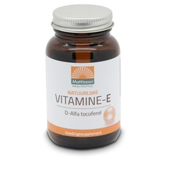 Mattisson Vitamine E natuurlijk (90 capsules)