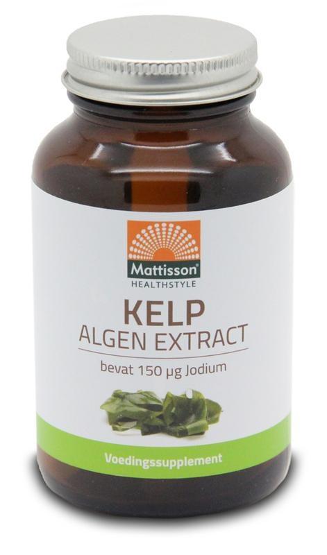 Mattisson Mattisson Kelp algenextract 150 mcg jodium (200 tabletten)