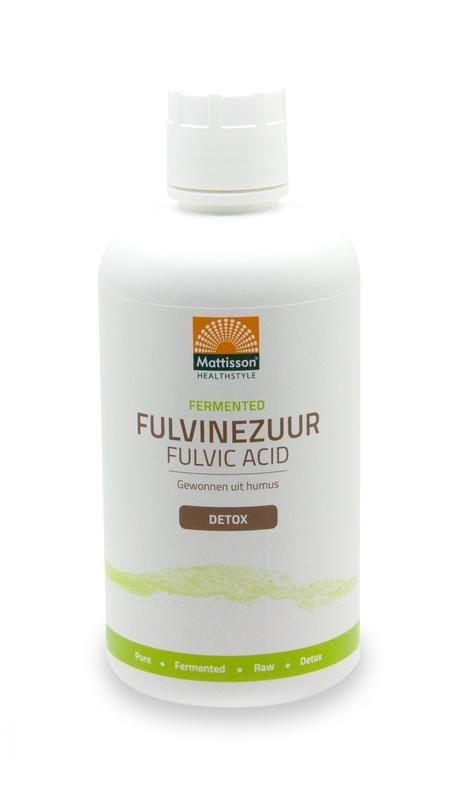 Mattisson Mattisson Fermented fulvine zuur - Fulvic acid (1000 ml)