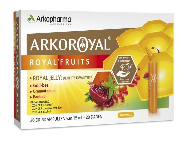 Arko Royal Arko Royal Royal fruits (20 ampullen)