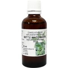 Natura Sanat Nasturtium off / witte waterkers tinctuur bio (50 ml)