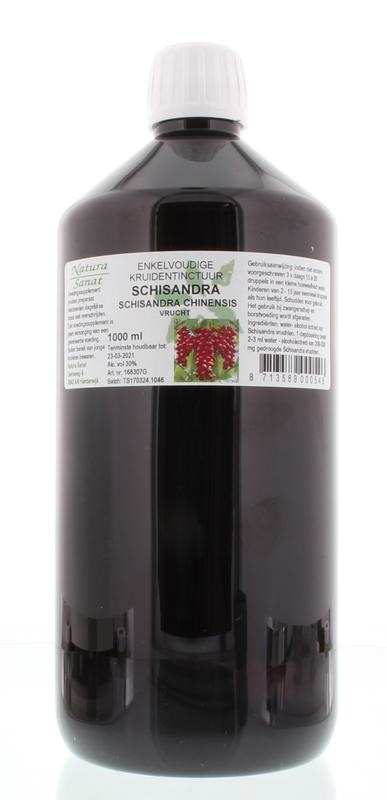 Natura Sanat Natura Sanat Schisandra chinensis fruct tinctuur (1 liter)