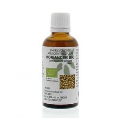 Natura Sanat Coriandrum sativum / koriander tinctuur bio (50 ml)