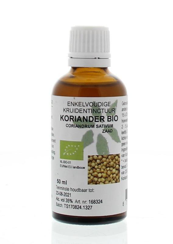 Natura Sanat Natura Sanat Coriandrum sativum / koriander tinctuur bio (50 ml)