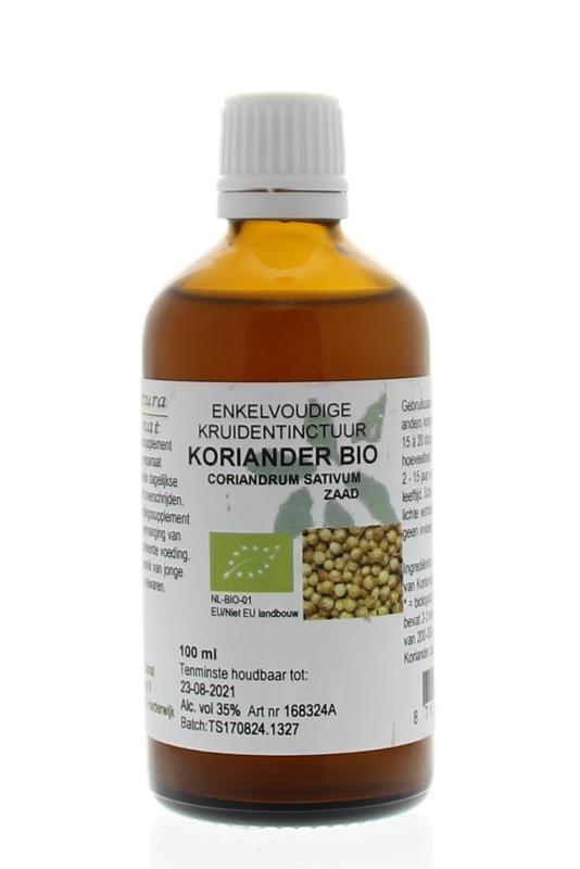 Natura Sanat Natura Sanat Coriandrum sativum / koriander tinctuur bio (100 ml)