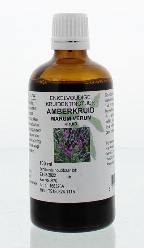 Natura Sanat Natura Sanat Marum verum / amberkruid tinctuur (100 ml)
