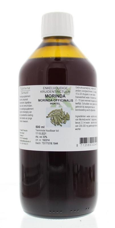 Natura Sanat Natura Sanat Morinda officinalis / morinda tinctuur (500 ml)