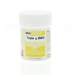 DNH Triple 4 bwd energa (150 tabletten)