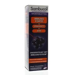 Sambucol Immuno forte bruistabletten suikervrij (15 bruistabletten)