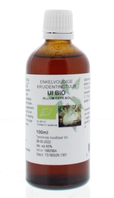 Natura Sanat Natura Sanat Allium cepa / ui tinctuur bio (100 ml)