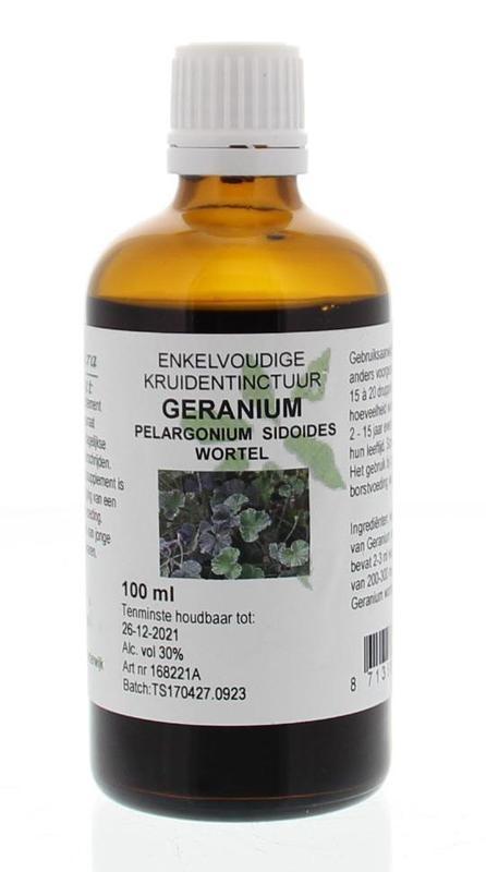 Natura Sanat Natura Sanat Pelargonium / geraniumwortel tinctuur (100 ml)