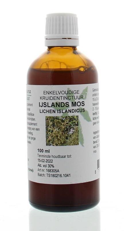 Natura Sanat Natura Sanat Lichen island / ijsland mos tinctuur (100 ml)