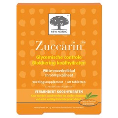 New Nordic Zuccarin (60 tabletten)