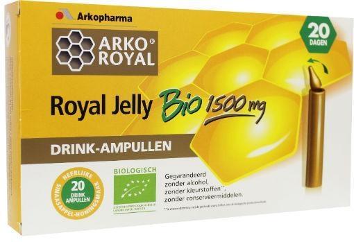 Arko Royal Arko Royal Royal jelly 1500 mg (20 ampullen)