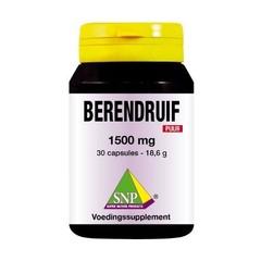 SNP Berendruif 1500 mg puur (30 capsules)