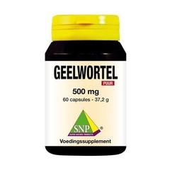 SNP Geelwortel curcuma 500 mg puur (60 capsules)