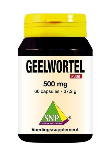 SNP SNP Geelwortel curcuma 500 mg puur (60 capsules)