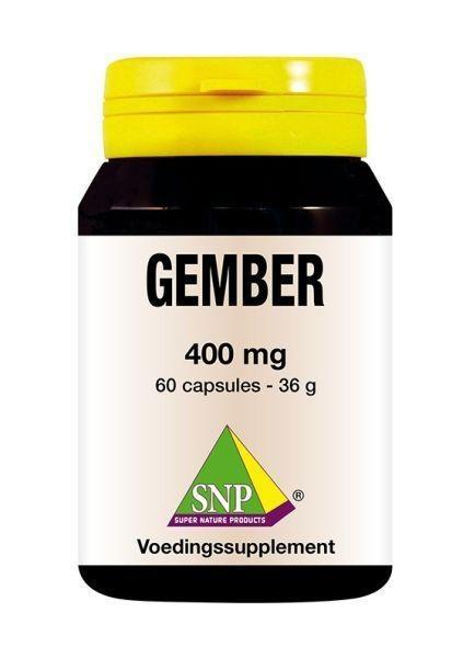 SNP SNP Gember 400 mg (60 capsules)