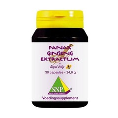 SNP Panax ginseng extract & royal jelly 700 mg (30 capsules)