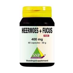 SNP Heermoes & fucus 400 mg puur (60 capsules)