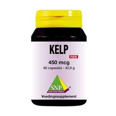 SNP Kelp 450 mcg puur (60 capsules)