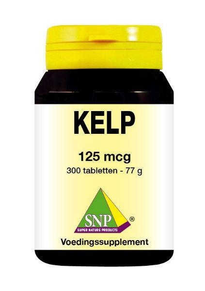 SNP SNP Kelp 125 mcg (300 tabletten)