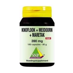SNP Knoflook-meidoorn-maretak 390 mg puur (180 capsules)