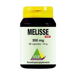 SNP Melisse 300 mg puur (60 capsules)