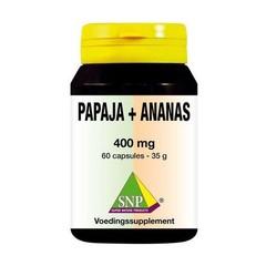 SNP Papaja -ananas 400 mg (60 capsules)