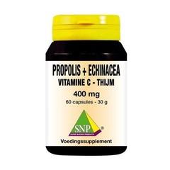 SNP Propolis & echinacea & thijm & vitamine C 400 mg (60 capsules)