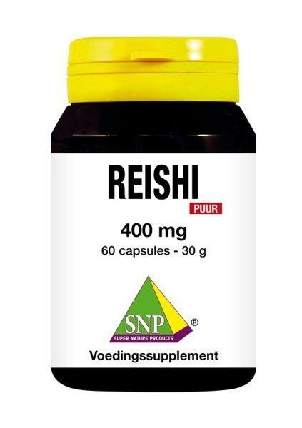 SNP SNP Reishi 400 mg puur (60 capsules)