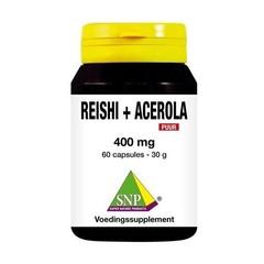 SNP Reishi acerola 400 mg puur (60 capsules)