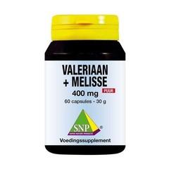 SNP Valeriaan melisse 400 mg puur (60 capsules)