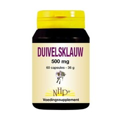 NHP Duivelsklauw 500 mg (60 capsules)