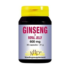 NHP Ginseng royal jelly 600 mg (30 capsules)