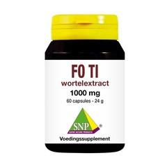 SNP Fo ti wortelextract (60 capsules)