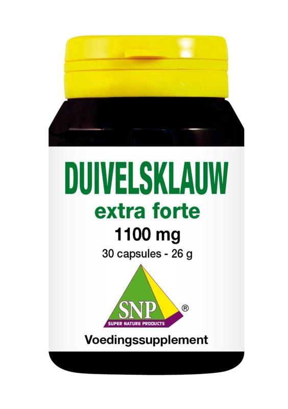 SNP Duivelsklauw extra forte 1100mg (30 capsules)